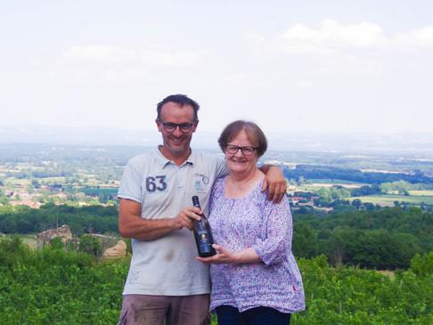 Domaine Les Vins de la Madone - Un vigneron au pied d'un volcan