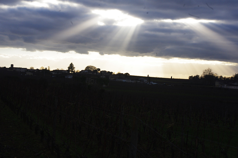 paysage chateau fonroque