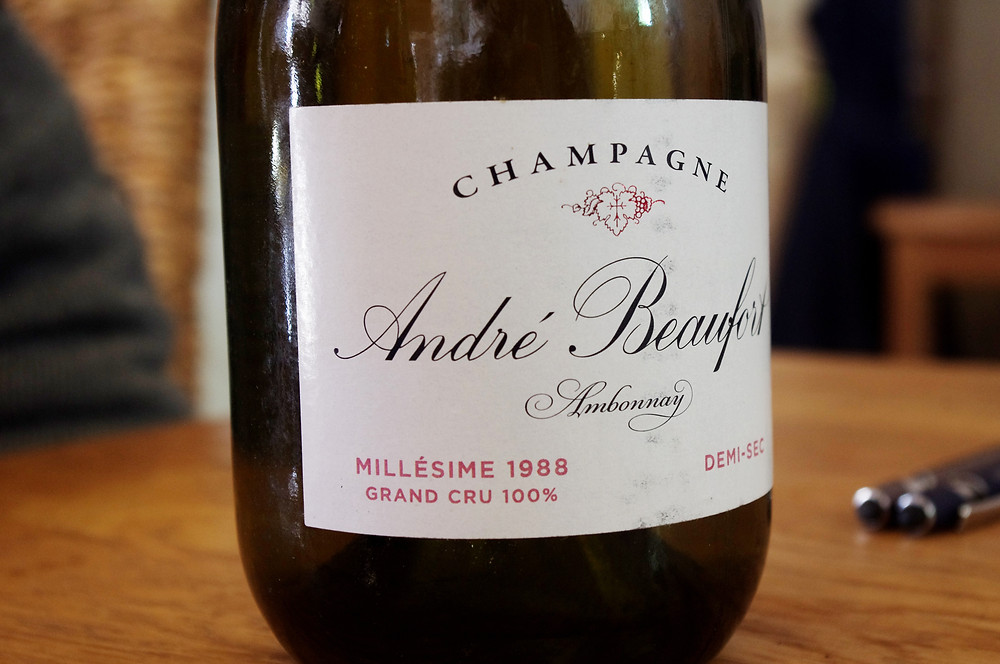 champagne andré beaufort