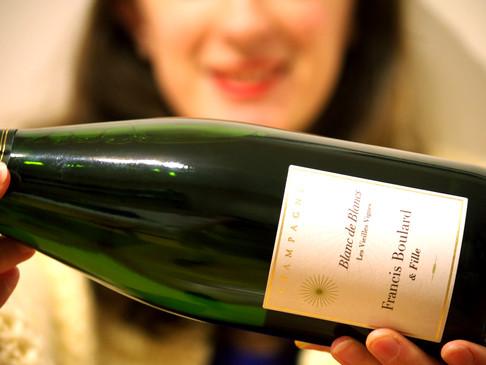 Domaine Francis Boulard & Fille - Maître Champagne sur un fût perché