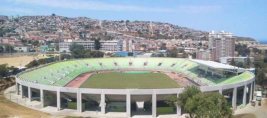 Elias Figureoa Stadium Ariel View