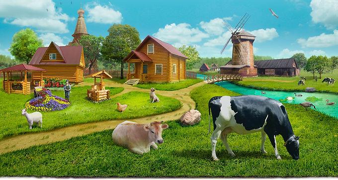 Поставка продуктов с фермы в рестораны и кафе