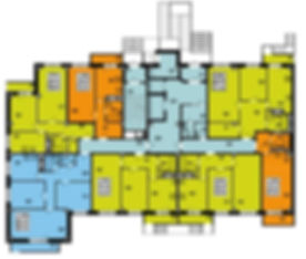 ЖК Гармония Дом №2 планировки