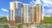 """ЖК """"Аксиома"""" Ижевск, аксиома, фасад жилого комплекса, проект, фасад, жк аксиома, новостройка, квартиры в новостройке, дом с на подлесной, новостройки Ижевска, стройка, макет, здание"""