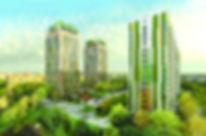 """ЖК """"ECO life"""" ВЕСНА Ижевск, Эколайф весна, концепция застройки, фасад жилого комплекса, проект, фасад, жк эколайф, новостройка на Карла Маркса, квартиры в новостройке, октябрьский район, новостройки Ижевска, стройка, макет, все секции, внешний вид, придомовая, территория, благоустройство"""