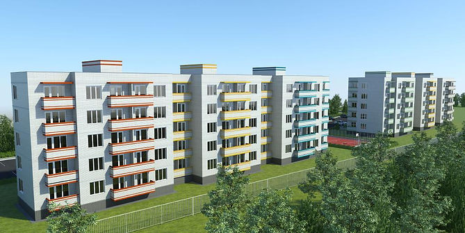 жк дарьинский фасад, жк, жилой комплекс, дарьинский, проект фасада, квартиры с отделкой