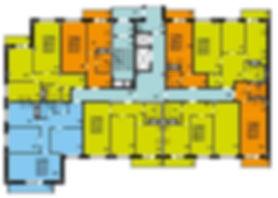 ЖК Гармония дом №2 планировка