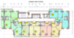 секция 3 стр.13.1, А-10 секция 3, план 10го этажа стр.13.1