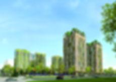 """ЖК """"Горизонты. Европейский квартал"""", горизонты, фасад, проект, макет, южный фасад, новостройка, парковка, двор, горизонты, европейский квартал"""