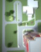 жк Гринпарк, Greenpark, green park, ижевск, вид сверху, макет, визуализация