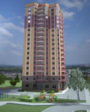 Жк Гринпарк, Ижевск, фасад, Izhgid, Ижгид, GreenPark, жилой комплекс, макет, проект, визуализация
