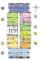Советская 41 планировка, планировки ЖК Советская 41, стр. 7.1 поэтажка, планировки квартир