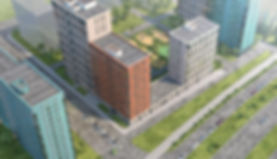 ЖК  Скандинавия, вид сверху, проект, скандинавия-1