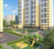 """ЖК """"Солнечный"""" Ижевск, жк Солнечный-2, вторая очередь, двор, дворик, детская площадка, оборудованная, новостройка, придомовая территория, огороженная, площадка, отдых, спортивная площадка"""