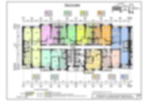 планировка, поэтажная, план, 7ой этаж, жк Советская 41, квартиры стр 7.2