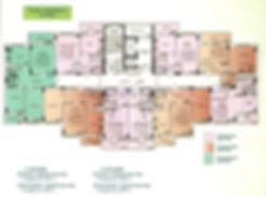 жк заречный квартал планировка, дом №5 заречный квартал планировка, типовой этаж стр.5