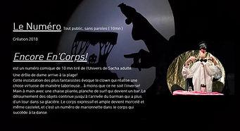 CARTE POSTALE  NUMERO ENCORE EN'CORPS.JPG