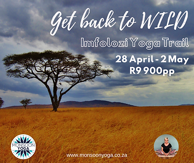 Copy of Imfolozi Wilderness Yoga Trail (