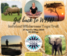 Imfolozi Wilderness Yoga Trail