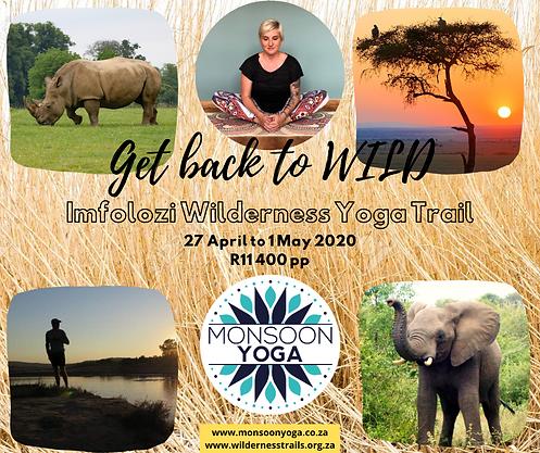 Imfolozi Wilderness Yoga Trail