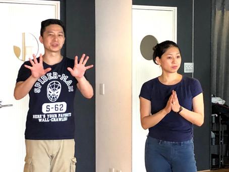 Tzu-Han & Kyoko 名古屋WS 2018,6