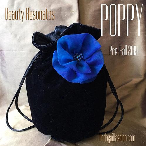 POPPY Mini Velvet Handbag
