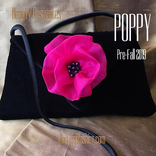 POPPY Mini Velvet Handbag