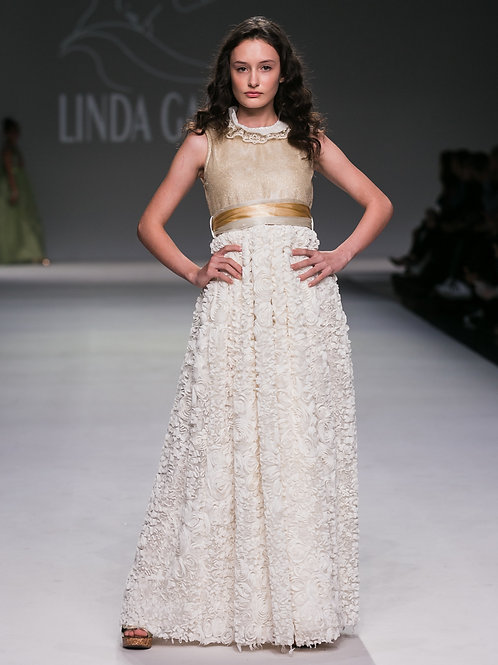 IVORY & GOLD GOWN