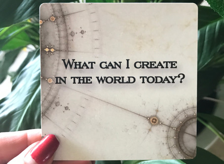 What can I create in the world today?