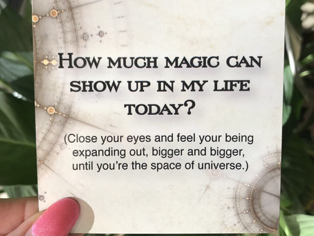 Show me some magic... poof!