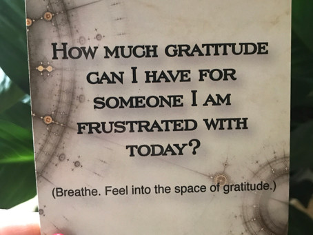 Frustrated Gratitude