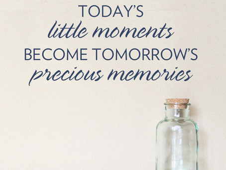 It's about the moments. Not the endings.