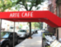 Arte Cafe Upper West Side Patio
