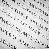 Inscription in the Jefferson Memorial in