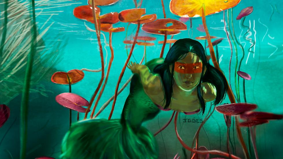 Iara, sereia brasileira