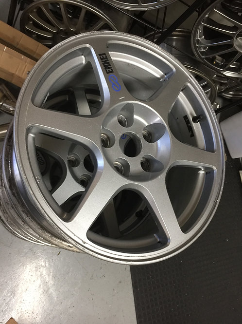 Genuine Mitsubishi Lancer Evolution VIII Enkei Wheels