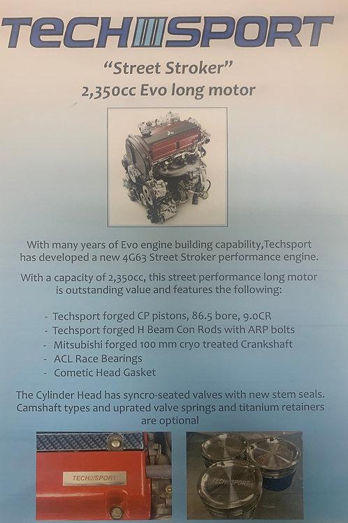 Forged EVO 4-8 Engine