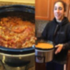 Crock Pot Coconut Lentil Curry_{vegetari