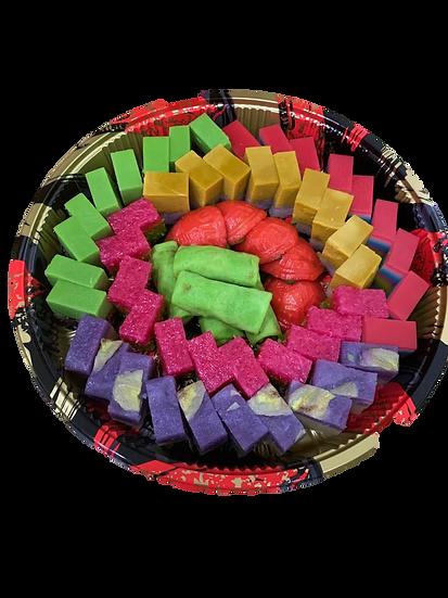 Premium Kueh Platter - Assorted - Large (60pc)