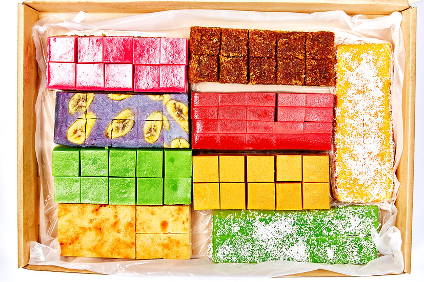 Catering Kueh Set - Asssorted - Extra Large (100pc)