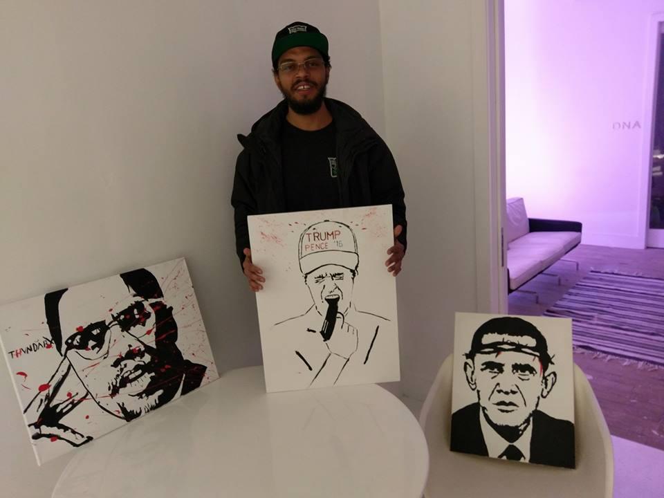 Twin art show