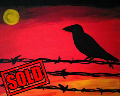 Sings in the dead of night-sold