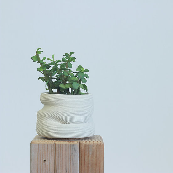 earthenware+glass planter no. 11