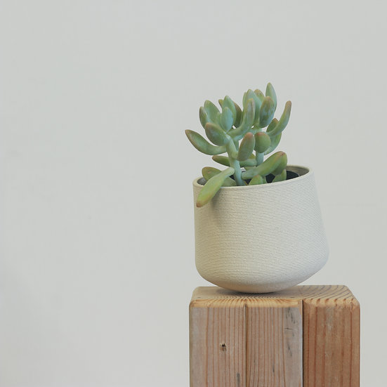tippy earthenware+glass planter no. 15