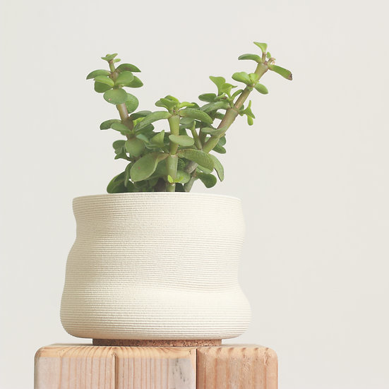 earthenware+glass planter no. 16