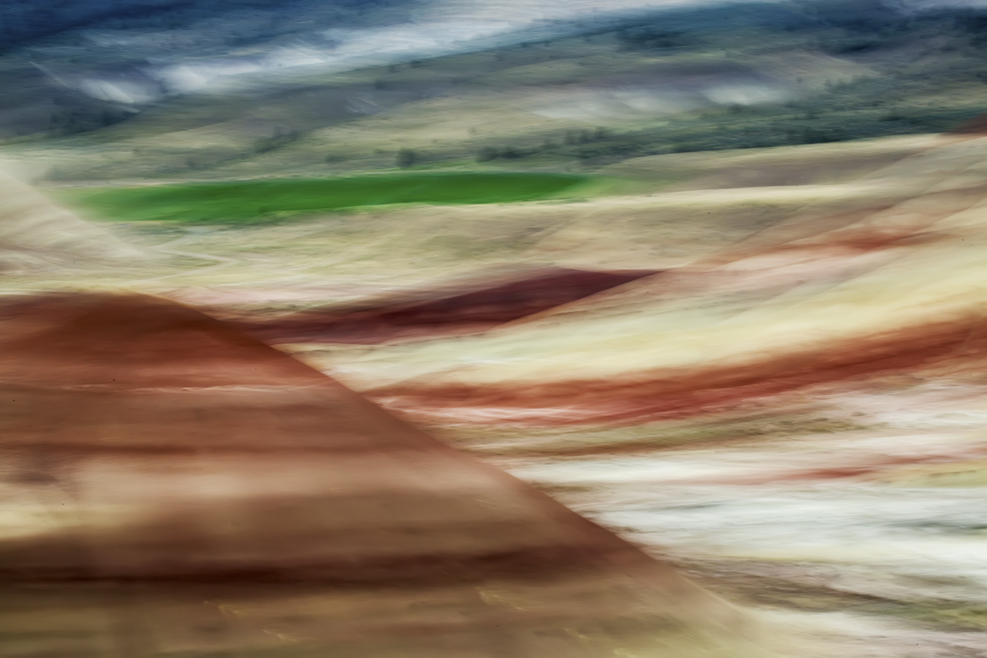 Abstract of Painted Hills