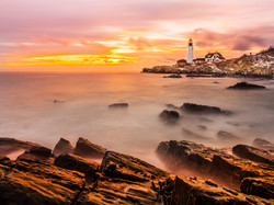 Morning in Portland Lighthouse
