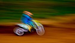 Xin Xin Liang-Ramming their motorcycle