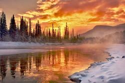 Morning Fog Lake