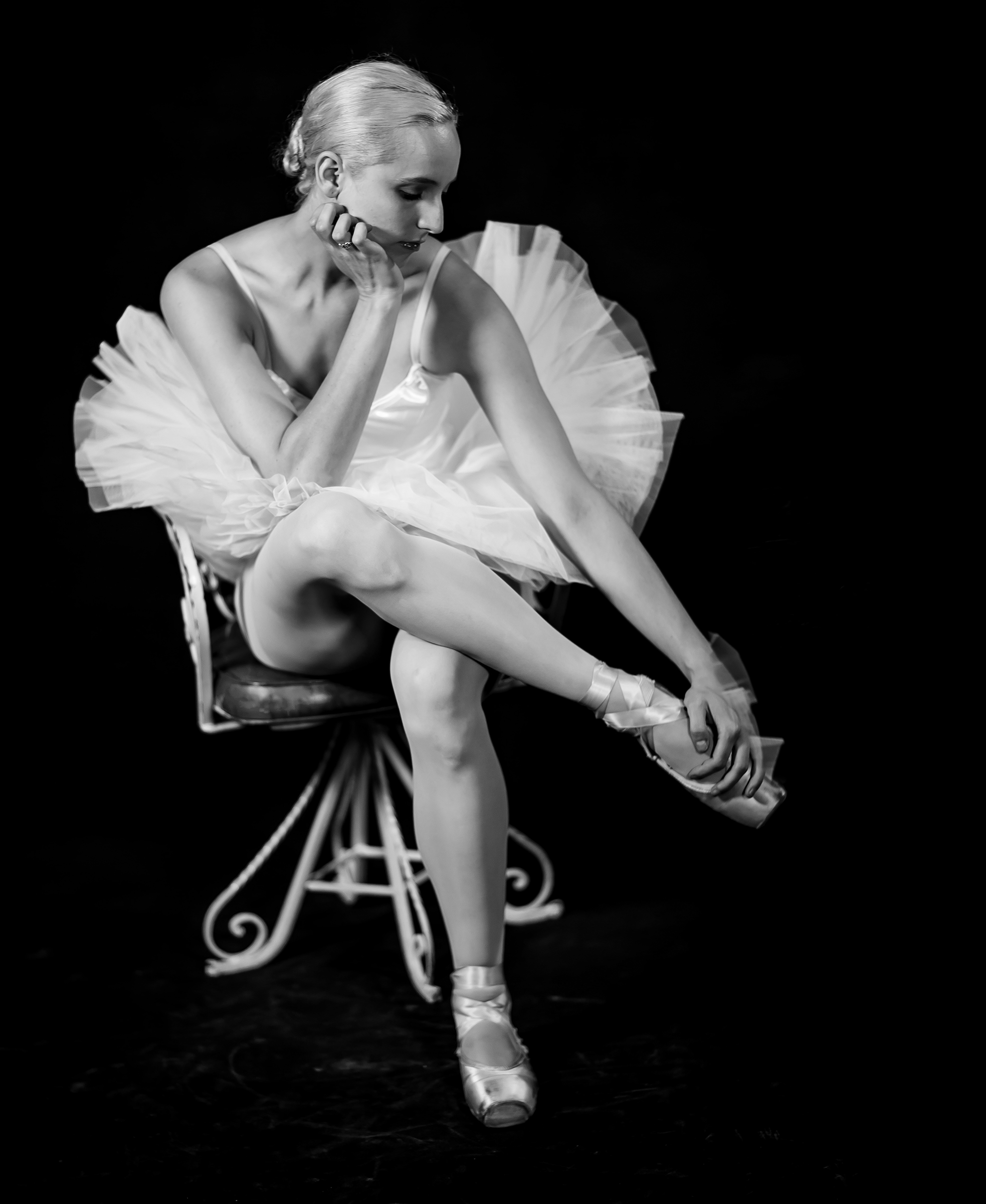 Ballerina At Break